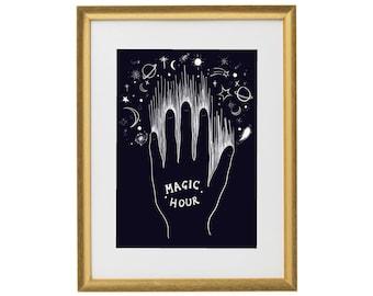 Magic Hour Wall Art Print