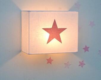 Apply Glitter star Pink