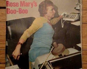 Newsweek December 10, 1973 Rose Mary Woods Boo-Boo Watergate Nixon Tapes