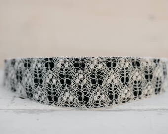Romantic White Lace Belt For Women - Homemade Craft Accessory - Pure White Lace - Bride Accessory - Lace Bridesmaids Accessory