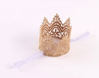 Royal crown headband