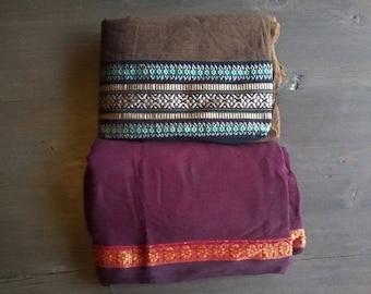 Longi shawls