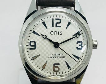 Beautiful vintage oris 17 jewels swiss made cal.FHFST96