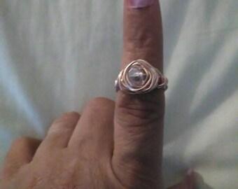Many custom made rings.