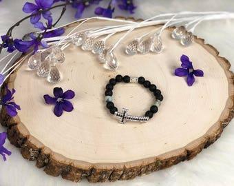 Cross Diffuser Bracelet