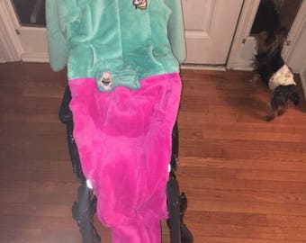 Wheelchair coat