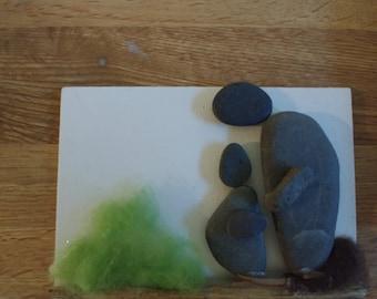 Father&Son Rock Art
