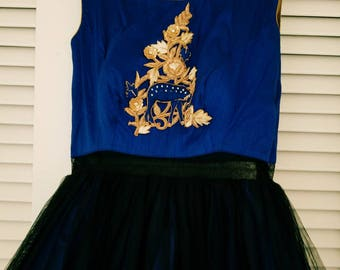 Party wear ball gown ( u can wear this gown in any party or wedding)