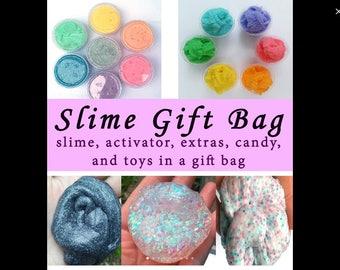 Slime gift bag