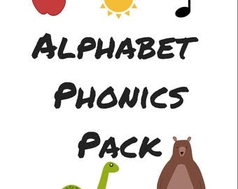 Alphabet Phonics Pack
