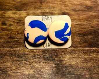 Polymer Clay Earring 16mm