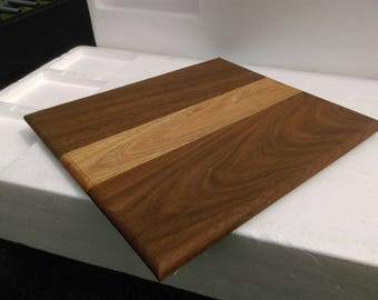 Spotted gum and Blackbut Chopping Board