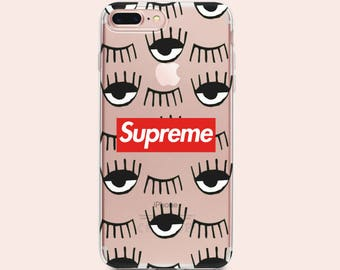 Supreme iPhone 8 Сase clear case Supreme iPhone 7 Plus Case Supreme iPhone X case Supreme Case Supreme iPhone Case Supreme Louis Vuitton LV