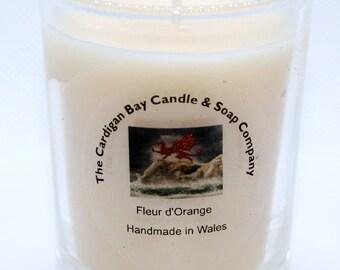 """Natural Soy Wax Luxury Votive Candle """"Fleur d'Orange"""""""