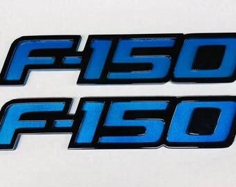 Ford F-150 Custom Fender Emblems 2009-2014 (1 Pair)
