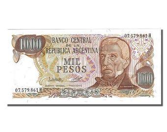 argentina 1000 pesos 1976 km #304c unc(65-70) 861h