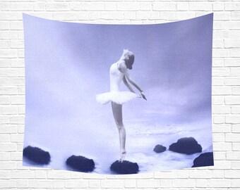 "Ballerina Wall Tapestry 60""x 51"""