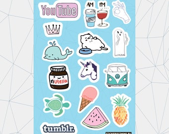 "Sticker pack ""Tumblr #1"""