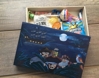 "Wooden box ""Pirates"""