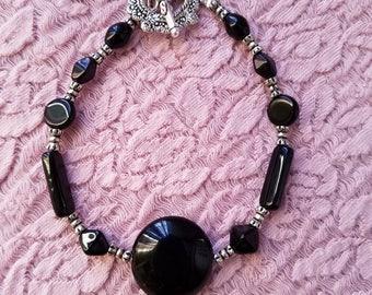 Classy in Black Bracelet