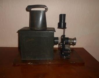 very old magic lantern