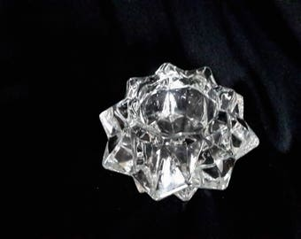 Avon clear glass starvotice from the 70's