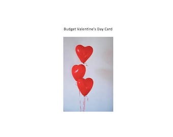 Funny Valentine's Day Card - Budget