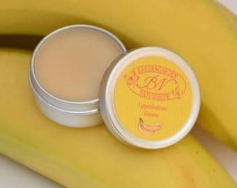 Lip Balm banana, natural lip Care