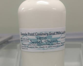 Hello Sweet Thang Goat Milk Lotion 2 Oz