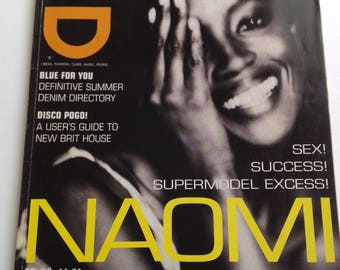 iD Magazine - August 1996 - Naomi Campbell shot by Paulo Roversi