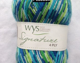 West Yorkshire Signature 4 ply Sock Yarn
