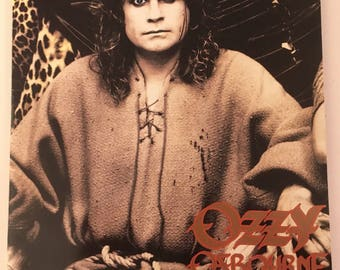 Ozzy Osbourne no rest for the wicked concert tour program