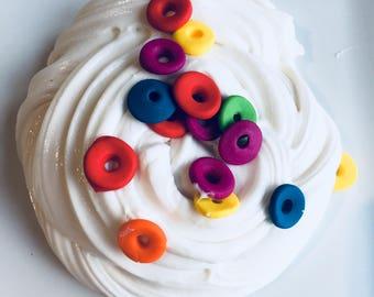 Fruit Loop Cereal Slime