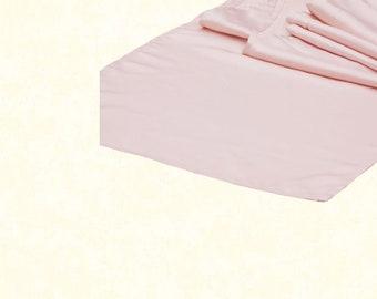Lamour Satin Table Runner - Blush