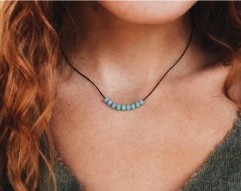 Prayer Necklace / Turquoise