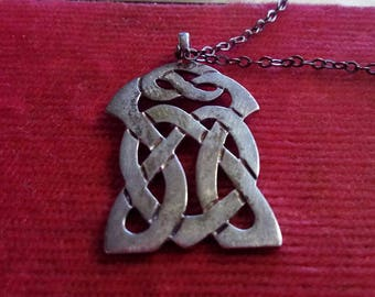 Celtic Style Sterling Silver Pendant