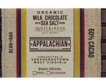 60% Organic Milk Chocolate