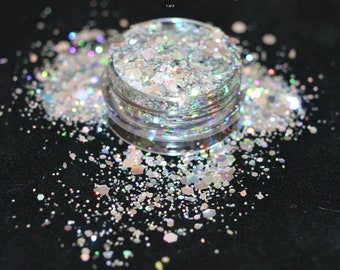 Nail art glitter for nails or art or cosmetics - dancing queen