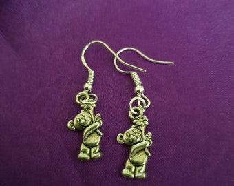 Cute teddy bear earrings