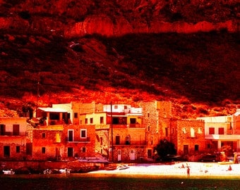 Village in Mani Greece
