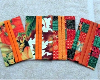 Fall & Autumn Kleenex Holders with Tissues - Thanksgiving