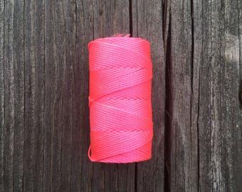 C-Lon Cord .5mm - Hot Pink