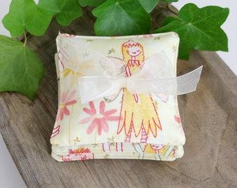 Whimsical Set of Petite Lavender Sachets, Fairy Angels, Little Girl Sachets