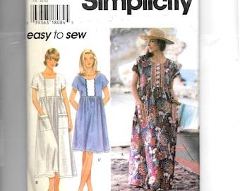 Simplicity Misses' Dress Pattern 9598