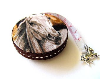 Tape Measure Wild Horses Retractable Measuring Tape