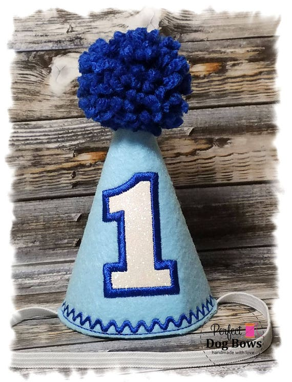 Dog Birthday Hat/ Boy Dog Party Hat/ Dogs First Birthday/ Pet Birthday/Birthday Hat/ Birthday Boy/ Photo Prop
