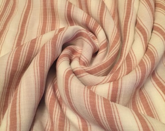 Rayon Vertical Stripes Fabric 1-1/2 Yards