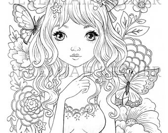 The Lonely Walk - Coloring Page