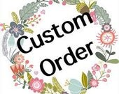 Special Order for you