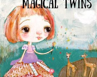 Magical Twins  - online art class